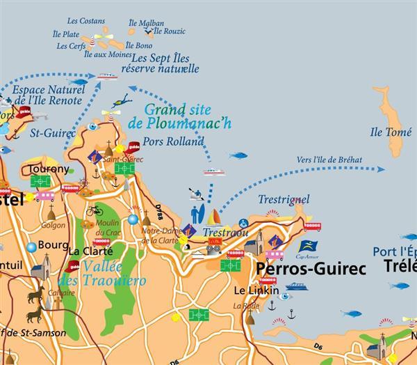 Perros Guirec Sur La C 244 Te De Granit Rose Les Activit 233 S